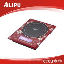 Fogão elétrico da indução do controle do toque do Cooktop do tamanho grande