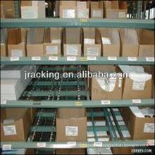 Вращающийся дисплей тросостойки,порошок покрыл полки для хранения стеллажи вешалки подачи коробки