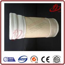 Bolsa de polvo de cemento bolsa bolsa de filtro de poliéster impermeable