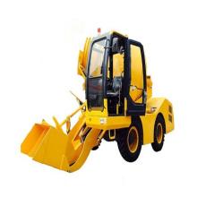 Self Loading Concrete Mixer Truck-4cbm