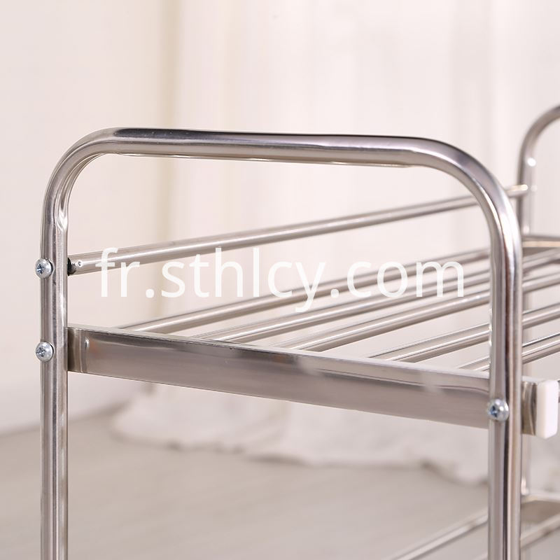 Modern Simple Metal Stainless Steel Shoe Frame04