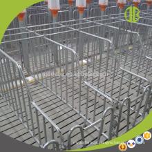 2018 caixas populares da porca galvanizadas quentes do uso da exploração agrícola de porco da caixa da gestação