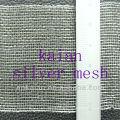 pure silver woven wire mesh