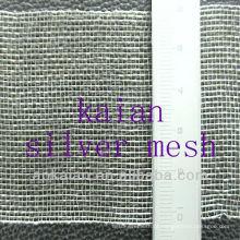 Malha de arame de prata pura