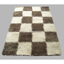 Sợi Polyester Thick & Thin Yarn Mix Carpet Rug