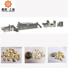 Machine d'extrudeuse de collations de bouffées de maïs de boule de fromage