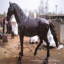 Lebensgroße Bronze Pferd Statue Washington DC mit direkt aus dem Boden gestampft