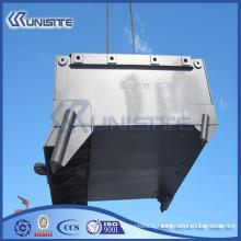 Boîte d'ancrage en acier personnalisée avec blocs de ballast (USC10-011)