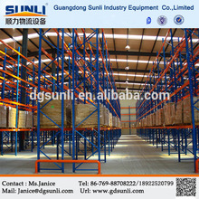 Hot Sale China Supplier Warehouse Storage Pallet Stacking Racking System