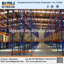 Venda quente China fornecedor armazém armazenamento Pallet Racking sistema de empilhamento