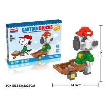 Bricolage en plastique Bâtiments de jouet intellectuel (H9537045)