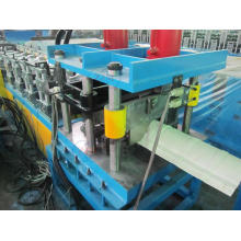 Color pintado de chapa de acero Roof Ridge Capping Forming Machines