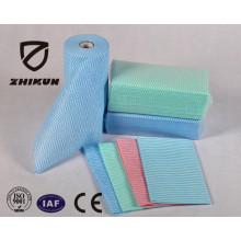 Personnalisation du client China High Quality Spunlace Non-tissé pour le nettoyage de la cuisine