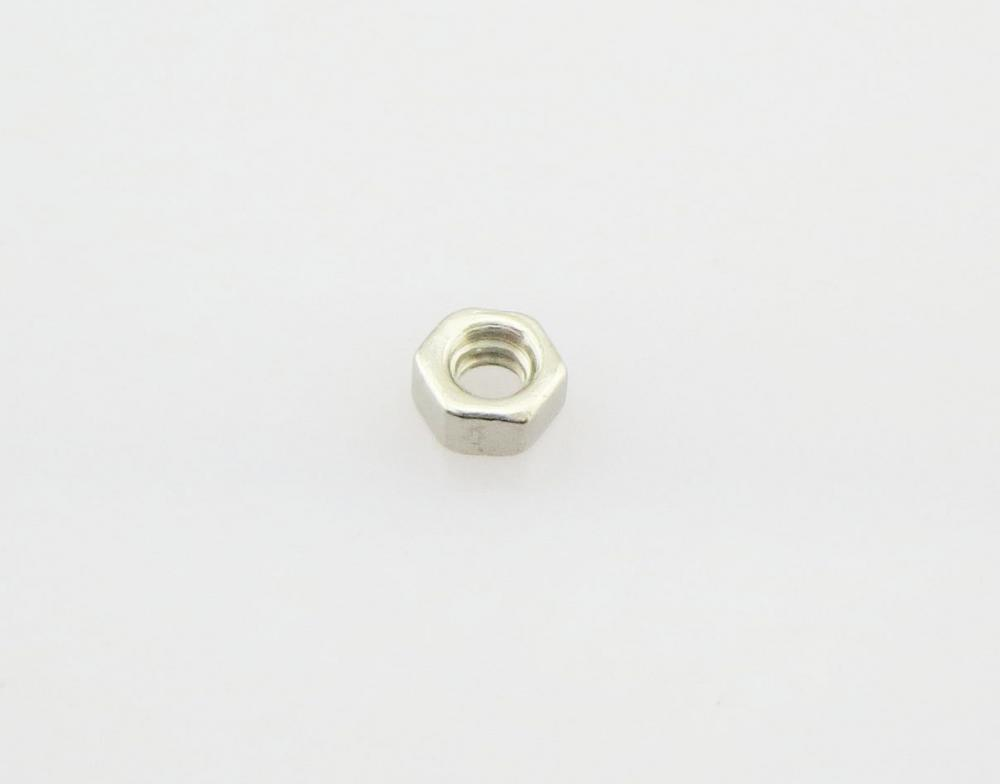 Nickel Silver Hexagon Nut For Eyeglasses Rimless
