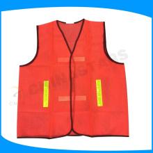 Gilet de sécurité 100% polyester mesh, gilet réfléchissant, gilet de sécurité pour soudure pour le Moyen-Orient