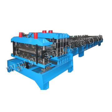 Станок для формования стальных плит с двойной пресс-формой
