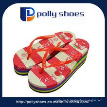 Sandale en PVC à talons hauts 2016 plus récent