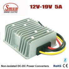 IP68 impermeável 12V à fonte de alimentação do conversor de 19VDC 5A DC-DC