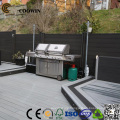 wooden materials outdoor wpc cheap prefab fence panels