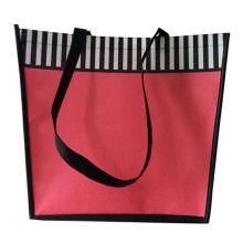 O costume imprimiu o saco de compras não tecido / saco da propaganda / saco Opg098 da promoção