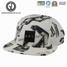 2016 Hot Korean Sublimation Printing Snapback Camper Cap with Badge
