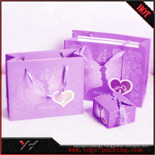 Yonghua Best Quality and Good Price Purple Gift Bags