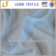 Lesen Textile polyester chiffon fabric lingerie 100% polyester fabric