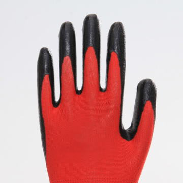 Thumb Fully Coated Non-slip Nitrile Safety Gloves