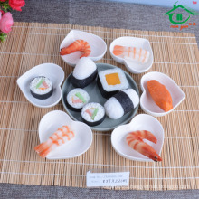 Taobao High quality sushi heart shape dish/ceramic dish