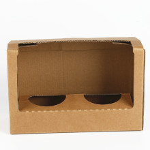 Customized Cup Display Carton Packaging Box