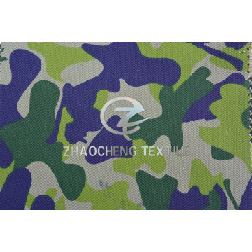 T/C65/35 2/2 Twill Fabric with Australia Camouflage for Vest (ZCBP269)