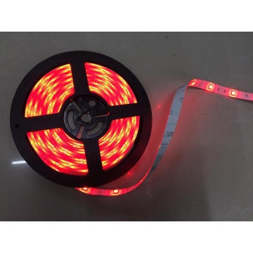 DC24V tira impermeable roja flexible del LED
