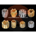Brass Molding Inserts for PPR, CPVC, UPVC, PVC pipe fittings