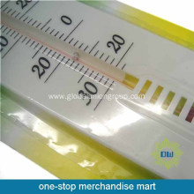 Plastic material house hanging thermometer