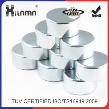 Imán de NdFeB disco redondo neodimio certificado Ts/ISO 16949