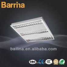 Escritório de T5 iluminação lâmpadas fluorescentes grelha embutida 3 * 14W
