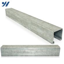 Canal en acier C galvanisé en acier galvanisé par fournisseur de la Chine