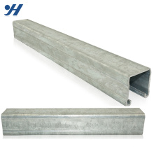 China Supplier Zinc Galvanized Steel C Lipped Channel