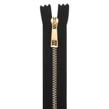 Латунь RIRI Zipper Teeth Gold Zipper Metal