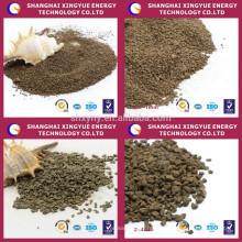 Greensand de manganèse de médias filtrants de solvant de fer