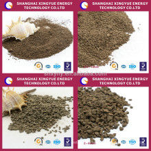 Manganese and Iron removal media natural manganese sand media granules
