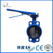 2015 hot sell mss sp-67 standard double flanged butterfly valve