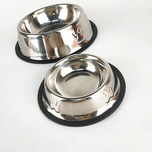 Metal Stainless Steel Pet Bowl Cat Dog Water Bowl Pet Products