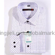 Men business casual shirt for young and middle-aged
