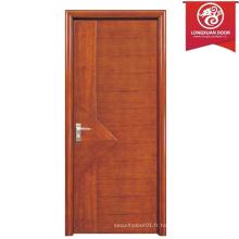 Design simple Panneau en MDF stratifié Porte en bois en nid d'abeille, portes de salle d'intérieur Choix de qualité
