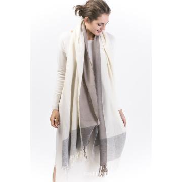 Brcwe-100% Yarn Dye Cashmere Ladies Scarf