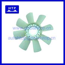 Fabricante al por mayor chino ventilador blade para MITSUBISHI Motor 6D22 6D22T 8DC9 para FUSO F330 FV419 ME055319 8Blades 8Holes