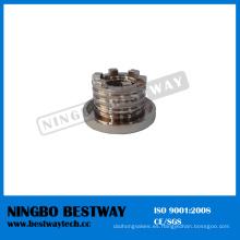 Proveedor rápido de la tuerca del parte movible de cobre amarillo de la venta caliente (BW-842)