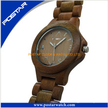 Reloj de cuarzo deportivo Factory Wood Watches