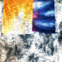 Polyester spandex misty tie dyed